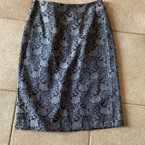 Beautiful Navy Skirt